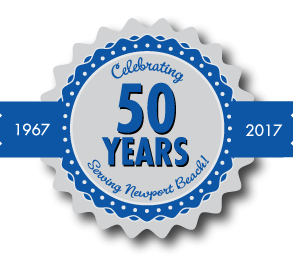 Burr White 50 years logo
