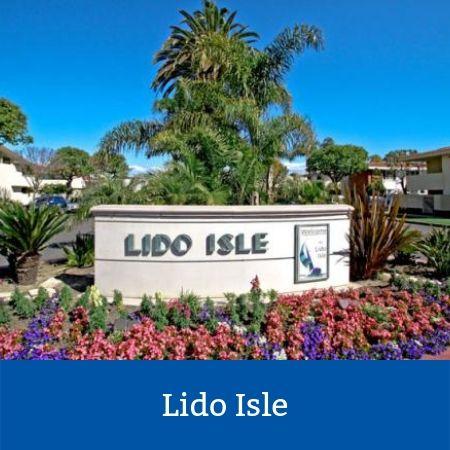 Lido Isle Sign