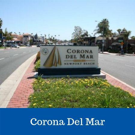 Corona Del Mar Sign