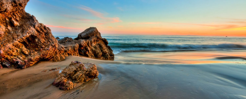 Beach in Southern California