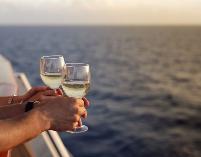 sunset cruise with drinks